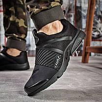 Кроссовки мужские спортивные Найк Nike Air, черные,кроссовки мужские демисезонные повседневные nike найк, фото 2