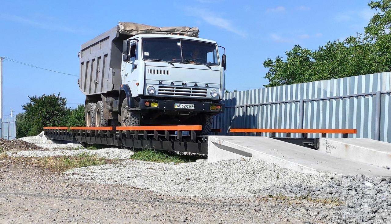 Весы автомобильные РСА-60-12-М (12 метров, 60 тонн)