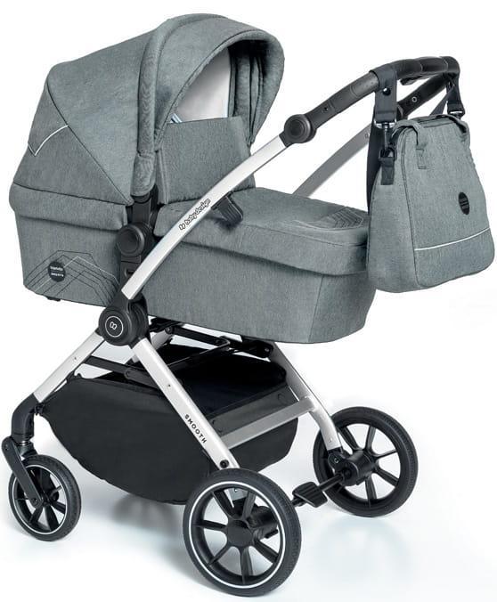 Коляска 2 в 1  Baby Design Smooth