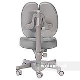 Комплект подростковая парта для школы FunDesk Amare Pink + ортопедическое кресло FunDesk Contento Grey, фото 7