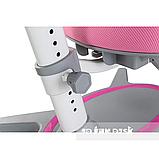 Комплект підліткова парта для школи FunDesk Amare II Pink+ортопедичне крісло FunDesk Primavera II Pink, фото 4