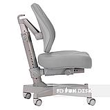 Комплект растущая парта FunDesk Amare Blue с выдвижным ящиком + кресло для подростков FunDesk Contento Grey, фото 8