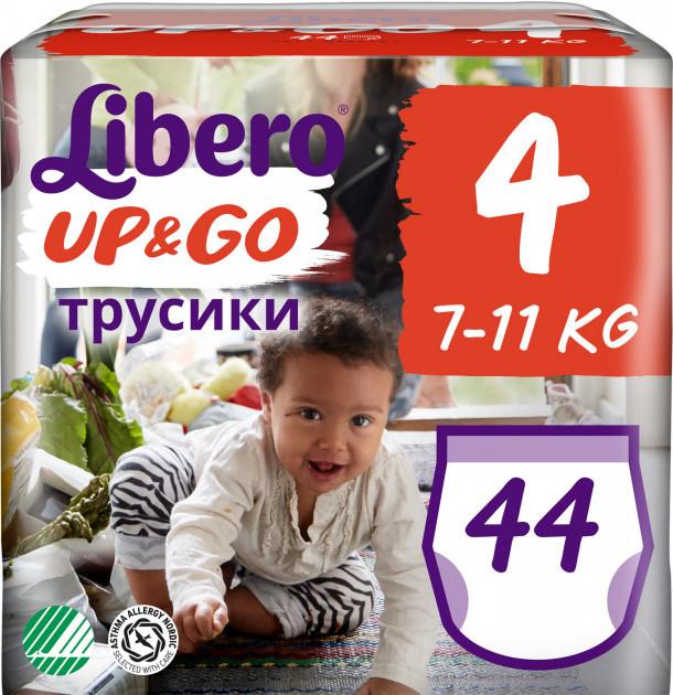 Підгузки-трусики Libero Up&Go 4 (7-11кг), 44шт
