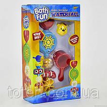 """Іграшка для ванної 9907 """"Водоспад"""" 28 см на присоску, кухлик, водяне колесо обертаються"""