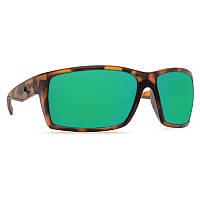 Очки Costa Del Mar Reefton Matte Retro Tort Green Mirror 580P
