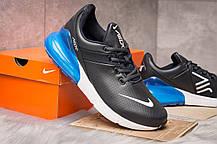 Кроссовки мужские спортивные Найк Nike Air 270, темно-синие,кроссовки мужские повседневные демисезонные найк, фото 3