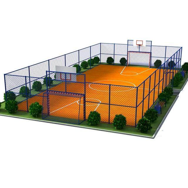 Ограждения для спортивных площадок - ООО «Велес Трейд ЛТД» в Днепре
