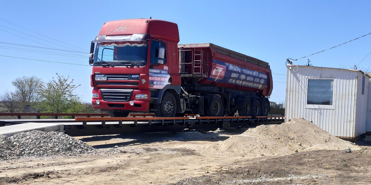 Весы автомобильные РСА-80-24-М (24 метров, 80 тонн)