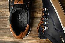 Кроссовки мужские спортивные Поло U.S. Polo, темно-синие,кроссовки мужские демисезонные повседневные U.S. Polo, фото 3
