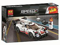 Детский конструктор Bela Speed Champions Гоночный автомобиль Porsche 919 169 деталей