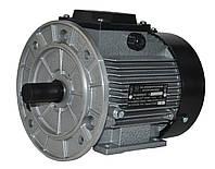 Электродвигатель трехфазный АИР 71 В4 (0,75кВт/1500об/мин) 380В, 220/380В крепление с фланцем (2081)