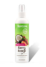Спрей-парфюм Tropiclean Berry Breeze с антистатиком 236 мл
