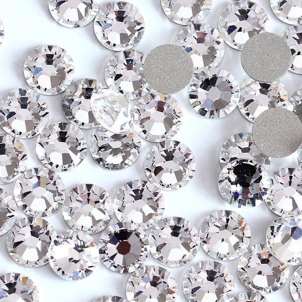 Стразы кристалл стекло 1440шт. есть опт! ss2 великолепное качество!