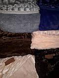 Плед покрывало Норка меховое  Кремовое, фото 9
