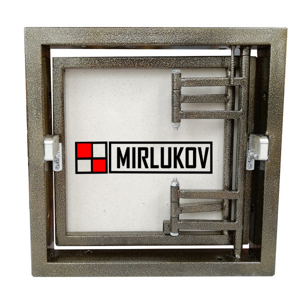 Потайной люк под плитку 400х400 (ШхВ) Нажимной