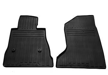 Коврики в салон резиновые передние для  CHEVROLET Camaro VI 2015- Stingray (2шт)