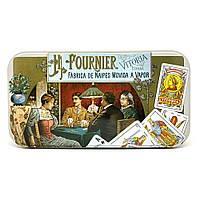 Покерные карты Fournier 818 Jumbo Metal