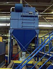 Фильтровальная установка для дробеструйных и дробеметных камер
