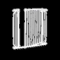 Защитные ворота, блокиратор для дверей до 105 см Lionelo TRUUS SLIM WHITE