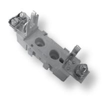 Тримач запобіжника NVPP 00 M8-M8 1p (160A)