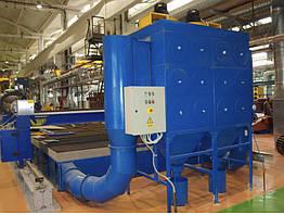 Фильтровальная установка для установок плазменной и газовой резки