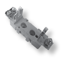 Тримач запобіжника NVPP 00 2xM6 - 2xM6 1p (160A)