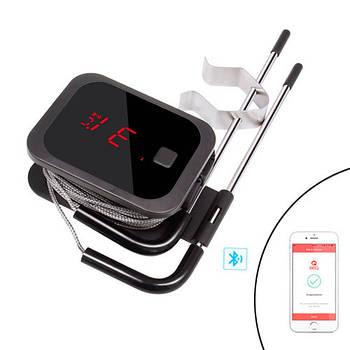 Термометр кулинарный Bluetooth для гриля INKBIRD IBT-2X, 2 датчика