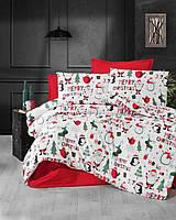 Merry Christmas, постельное белье из турецкого 100% хлопка премиум