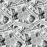 Комплект Жаккардовых Штор в детскую MacroHorizon Испания ГОРОДКИЕ НОВОСТИ, фото 4