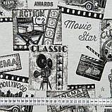 Комплект Жакардових Штор в дитячу MacroHorizon Іспанія КІНОТЕАТР, фото 4