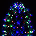 Гірлянда Кінський хвіст 200 LED, 10 ниток, Мультикольорова, дріт, від мережі, 2м., фото 5