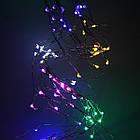Гірлянда Кінський хвіст 200 LED, 10 ниток, Мультикольорова, дріт, від мережі, 2м., фото 4