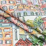 Комплект Декоративных Штор в детскую MacroHorizon Испания ДОМИКИ ЦВЕТНЫЕ, фото 2
