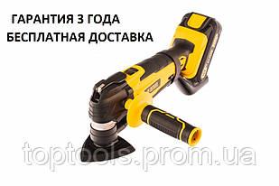 Реноватор (многофункциональный инструмент) аккумуляторный MTL-IB-18-02, Li-Ion, 18 В, 1.5 А*ч Denzel