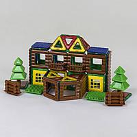 Магнитный конструктор 8873 набор 3D дом библиотека