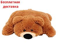 Подушка-игрушка Мишка 55 см коричневая, фото 1