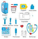 Портативный рюкзак Doctor toy (игровой набор 17 предметов), фото 2