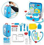 Портативный рюкзак Doctor toy (игровой набор 17 предметов), фото 3