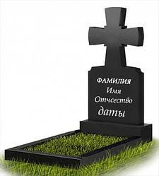 Пам'ятник у вигляді хреста з граніту (100 см) До-11