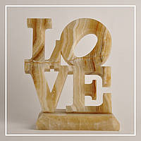 """Скульптура """"LOVE"""" онікс: ціна, фото, фото 1"""