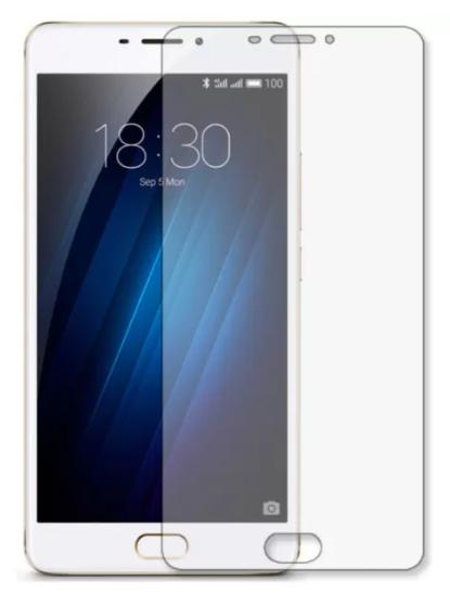 Гідрогелева захисна плівка на Meizu M3 Max на весь екран прозора