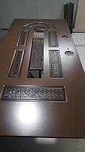 Замена МДФ накладки входных дверей