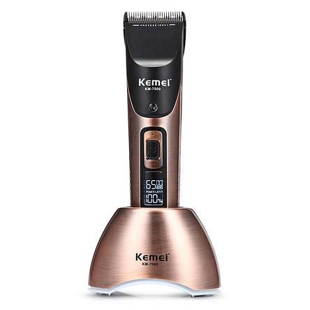 Машинка для стрижки Kemei KM-7500, фото 2