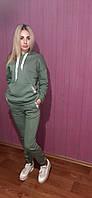 Теплый женский спортивный костюм/цвет оливковый, фото 1
