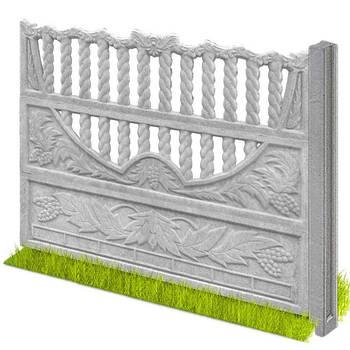 Бетонні паркани