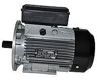 Электродвигатель однофазный АИ1Е 80 В2 (1,5 кВт / 3000 об/мин) 220В крепление с фланцем (2081)