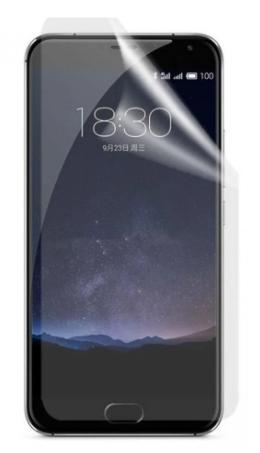 Гидрогелевая защитная пленка на Meizu PRO 5 на весь экран прозрачная