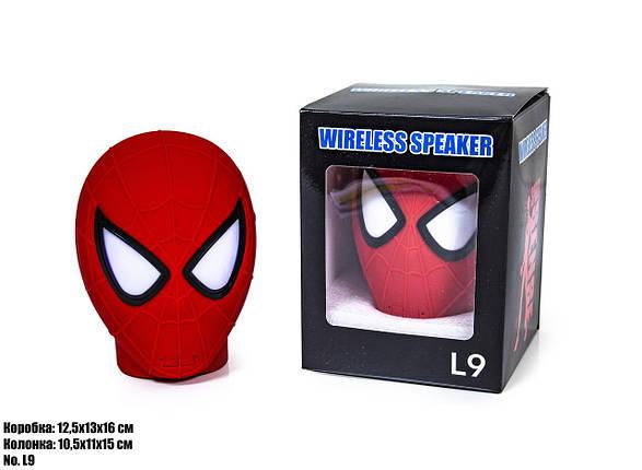 Bluetooth Колонка Spider Man L9, фото 2