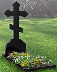 Памятник в виде креста из гранита К-17