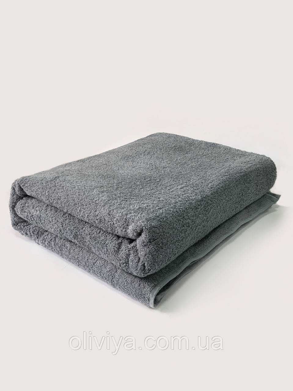 Полотенце для пляжа темно-серое